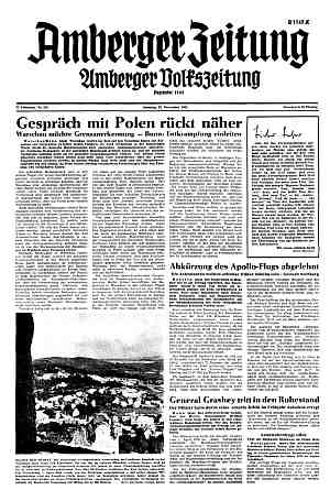AZ vom 22. November 1968